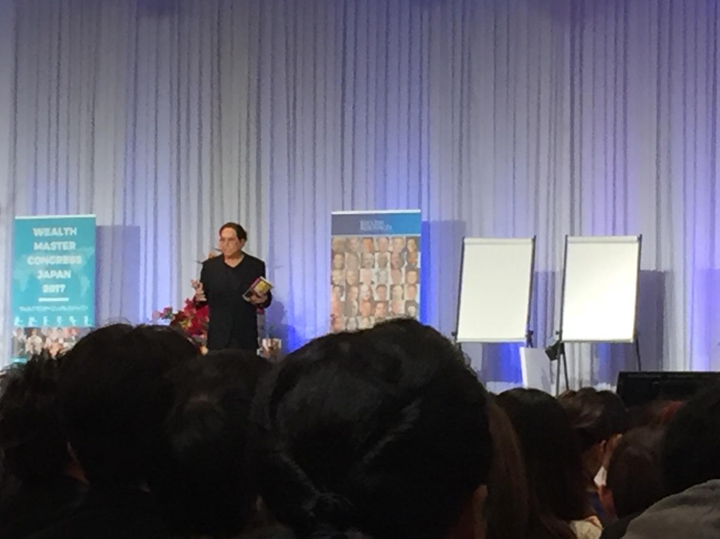 ロバートキヨサキの講演会